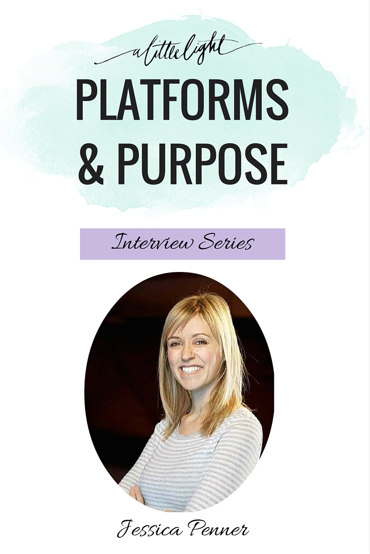 Platforms & Purpose (Jessica Penner of Smart Nutrition)