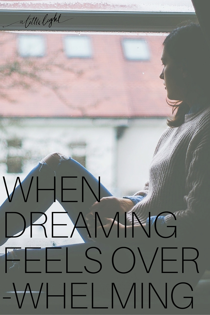 When Dreaming Feels Overwhelming
