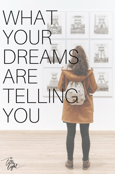 what dreams are telling you