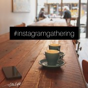 Every couple months we meet on Instagram to have a virtual happy hour. It is a way to meet other women and engage in meaningful conversations in social media.