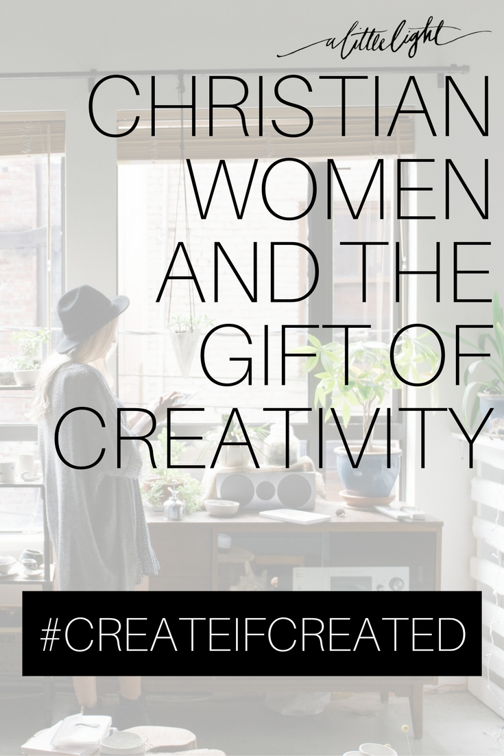 christian women and the gift of creativity