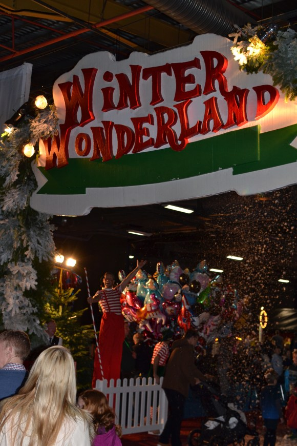 winter wonderland event city