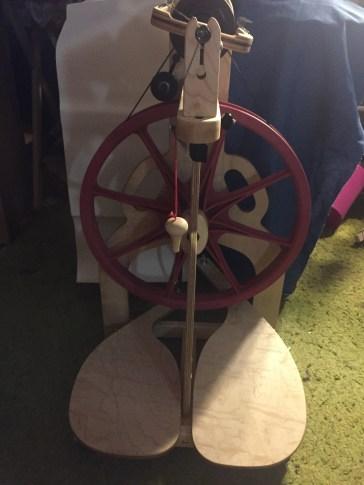 My New wheel