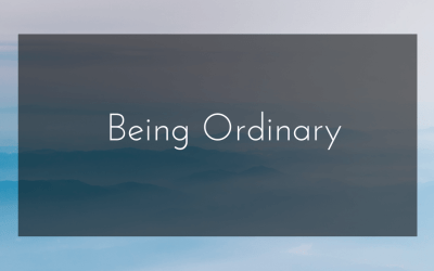 Being Ordinary