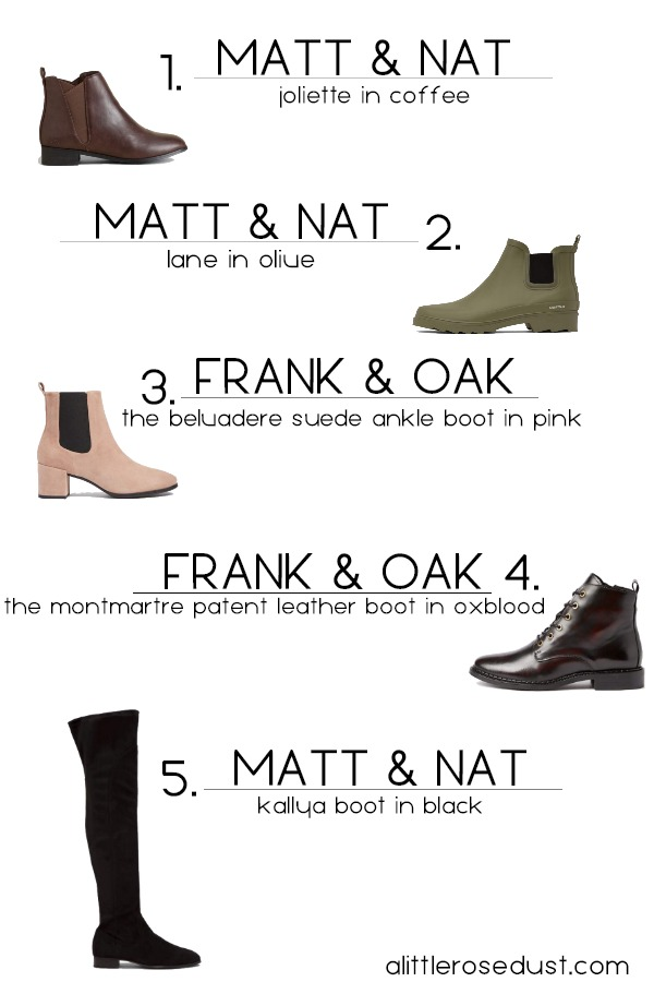 The perfect ethical fall boots- sustainably made fall boots -