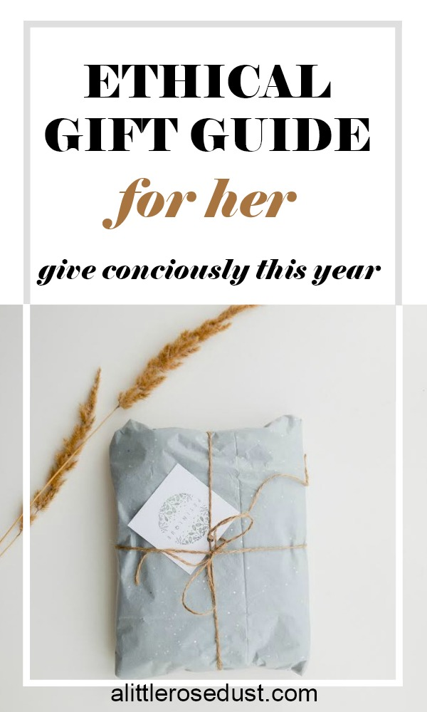 ethical gifts for her