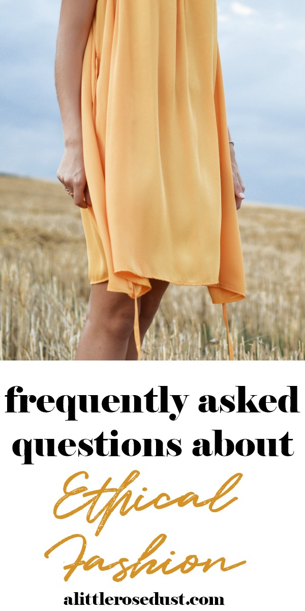 ethical fashion frequently asked questions
