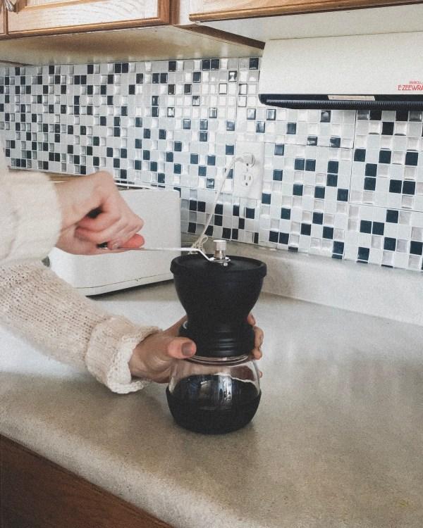 zero-waste coffee routine