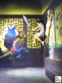 Combine time travel, soccer and kungfu in Alive Museum.