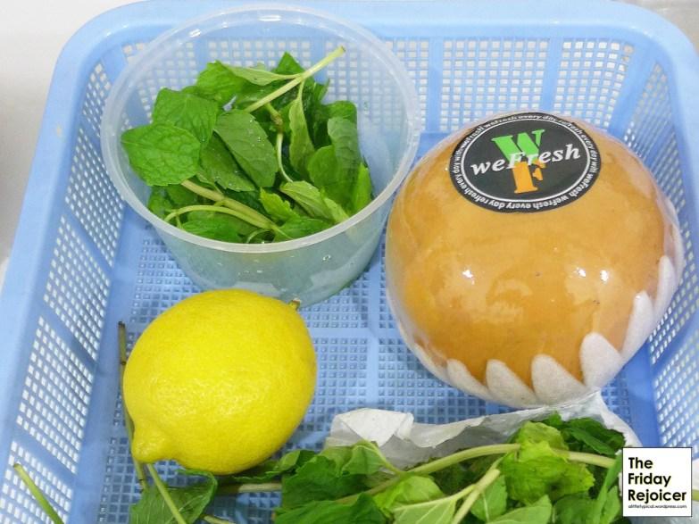 Main ingredient Korean pear