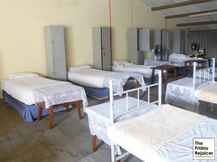10 beds dormitory.