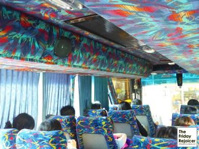 Interior of Superior Coach