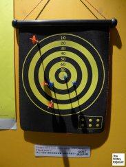 My dart score.