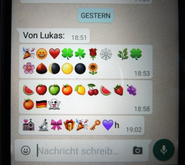 """""""von Enkel Lukas"""""""