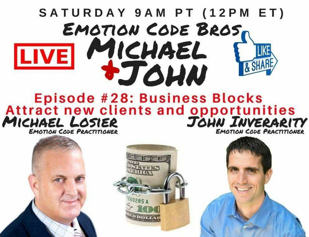 Episode #28 Business Blocks – Attract new clients and opportunity.