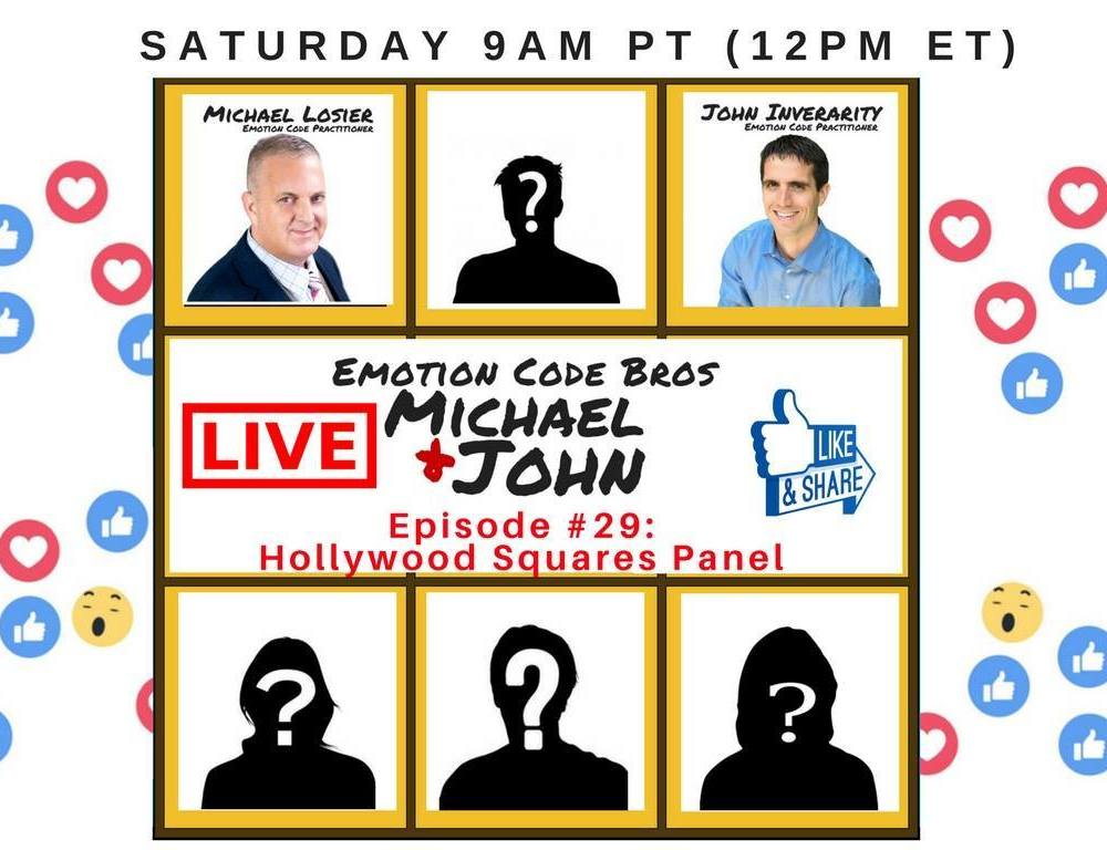Episode #29 Emotion Code Bros Hollywood Squares Panel