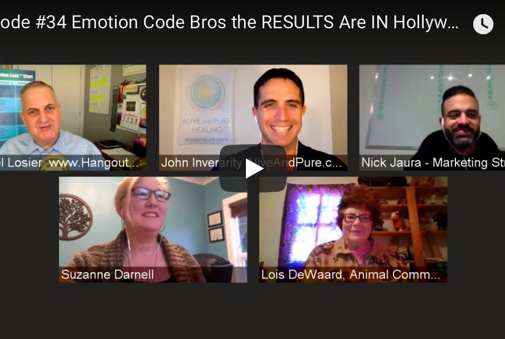 Episode #34 Emotion Code Bros the RESULTS Are IN Hollywood Squares Style