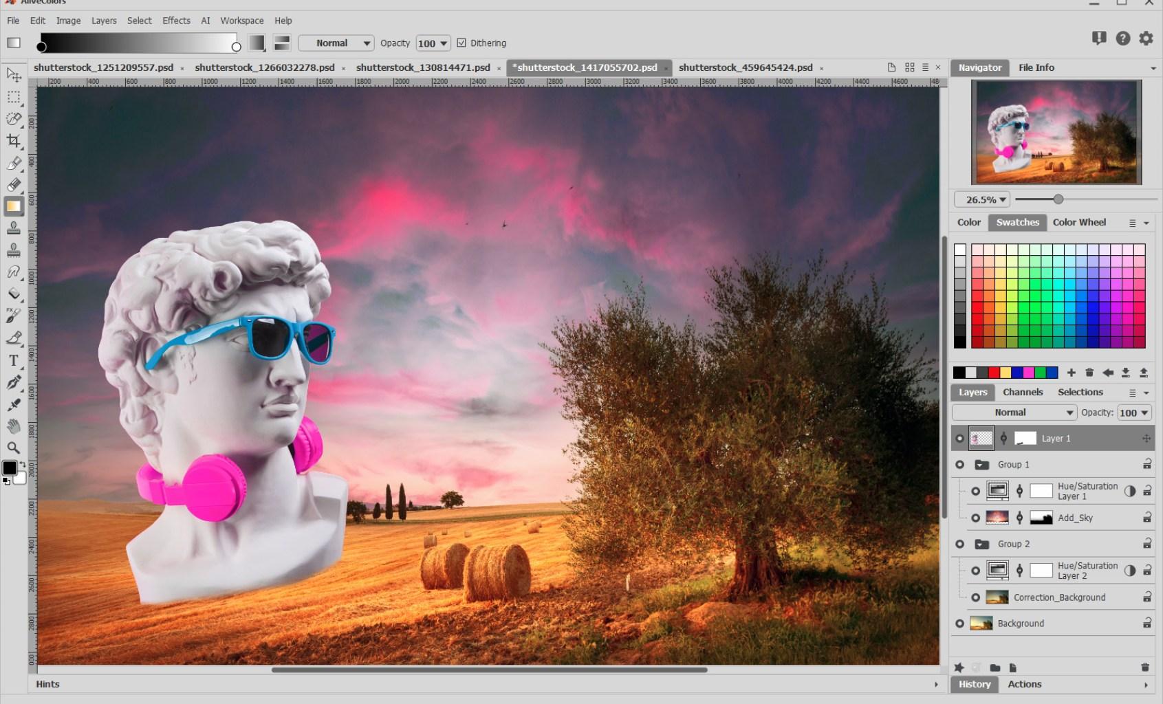 AliveColors for Mac 1.2.1560.16140 破解版 - 图片编辑软件