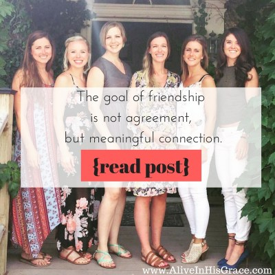the-goal-of-friendship-is-not-agreement-but-personal-connection