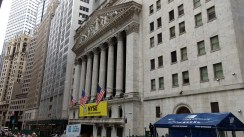 I made it to Wall Street!
