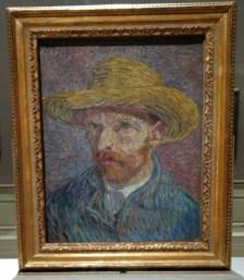 Van Gogh - Self-Portrait with a Straw Hat