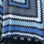 Giant Granny Square Crochet Blanket Alivelyhope Com