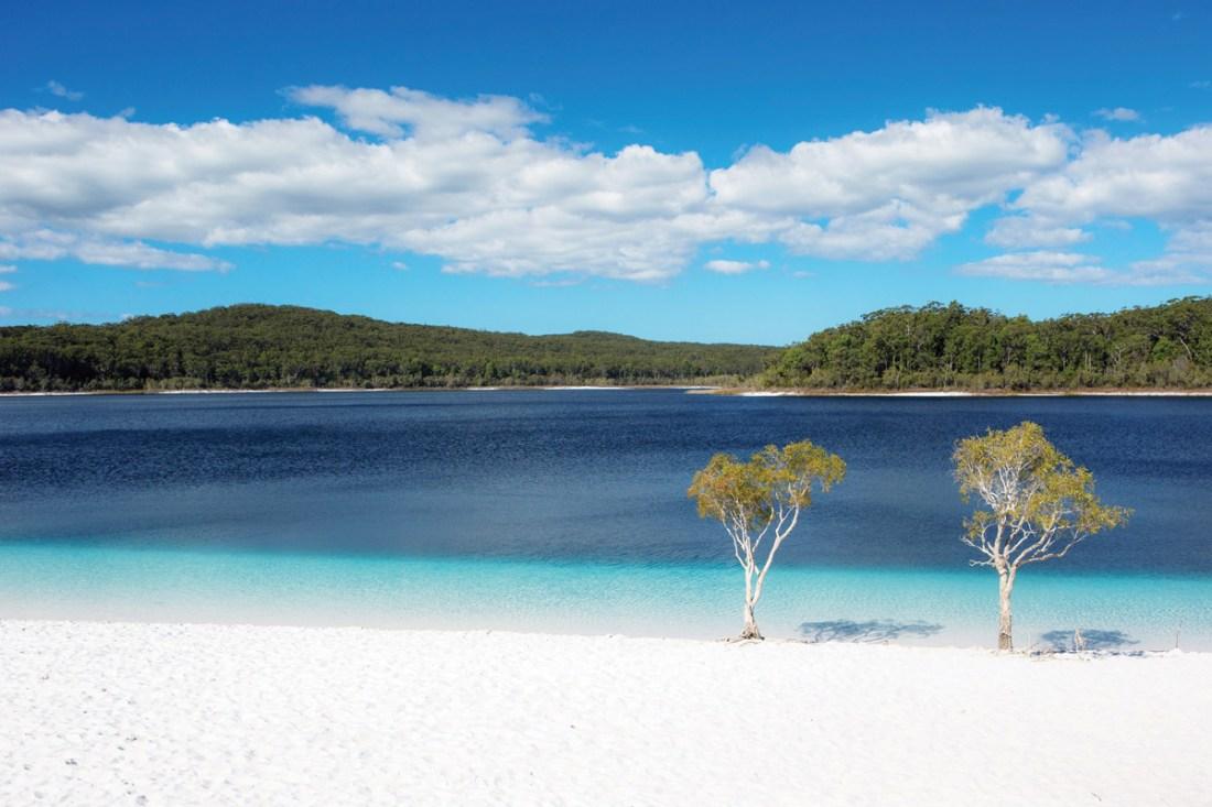 Lake McKenzie beach