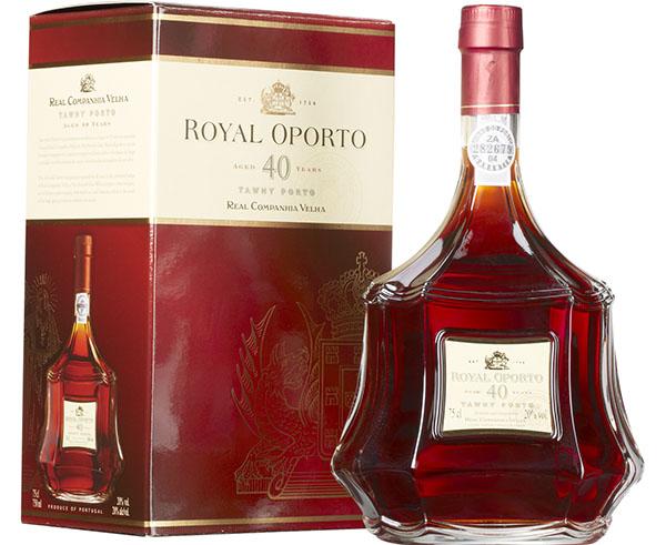 Royal Oporto 40 Anos - garrafa + embalagem 600