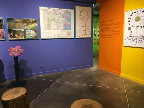 Bonnie Ora's installation at PAV
