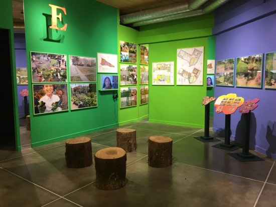 A Living Library installation at PAV, Turin