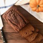 Spelt Flour Pumpkin Bread - AlixBarth.com