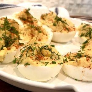 Paleo Classic Deviled Eggs