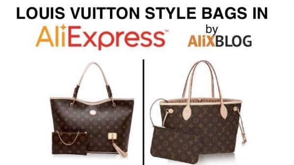 Louis Vuitton style bags in AliExpress - Buying tricks 2016