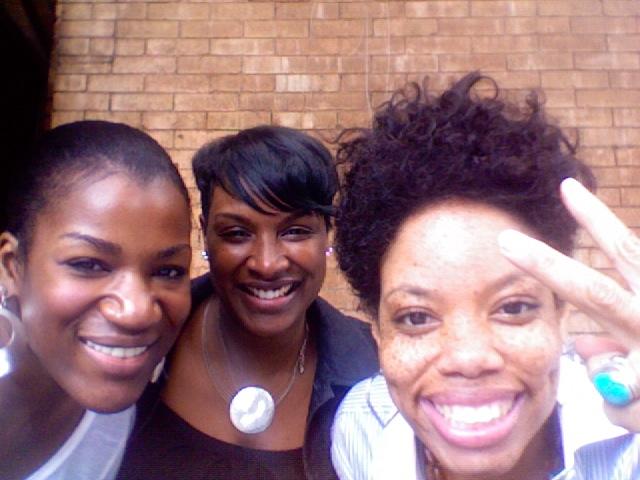 Me and my girls Clover and Taiia