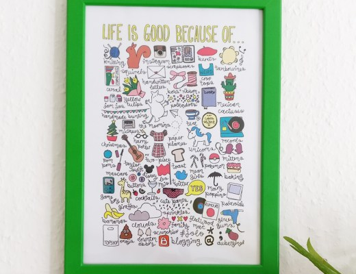Easy tricks to decorate your walls on budget - Life is good because of print