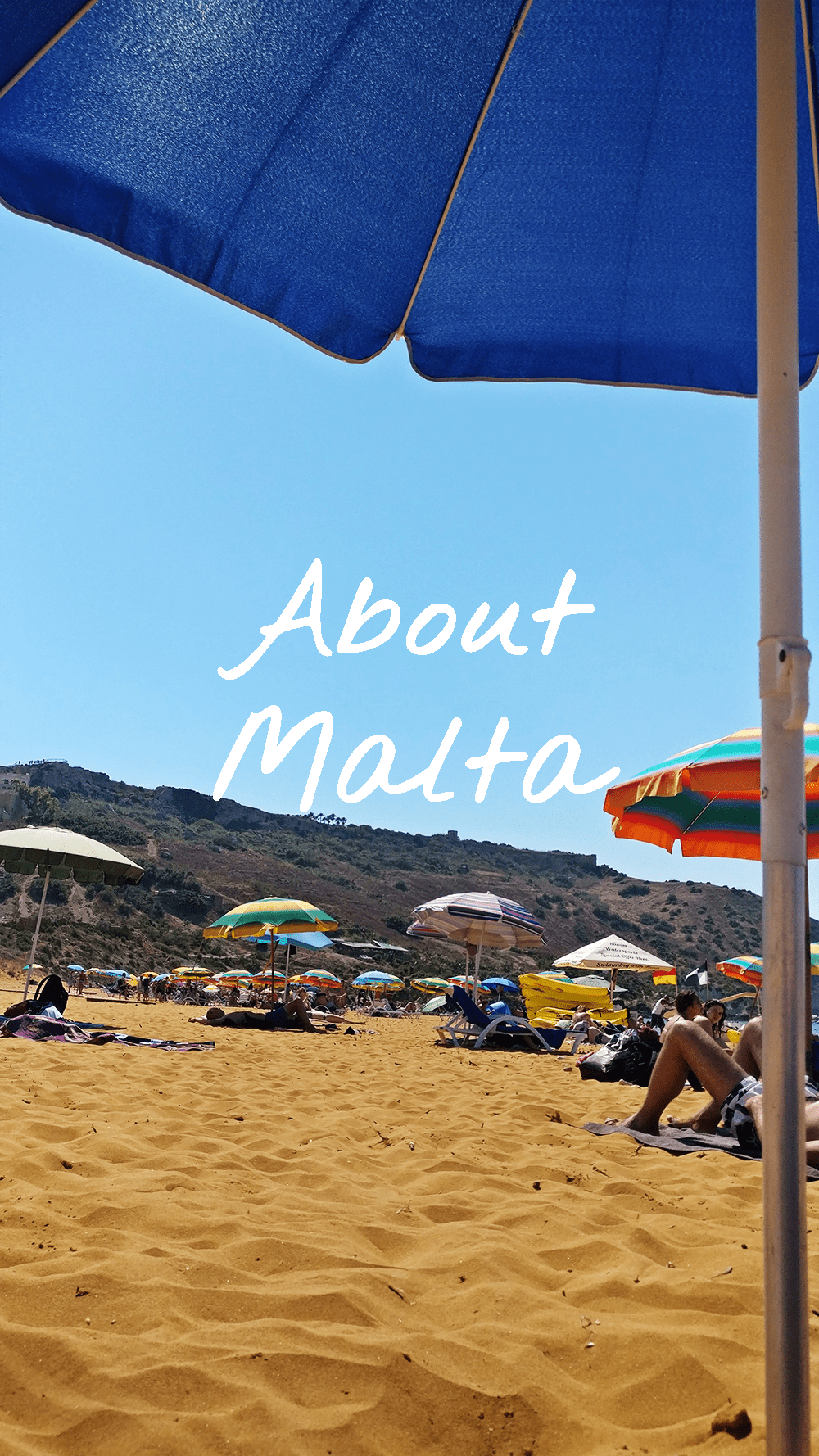 About Malta - the islands - weather - Maltese people - interesting facts - traffic - eating and drinking