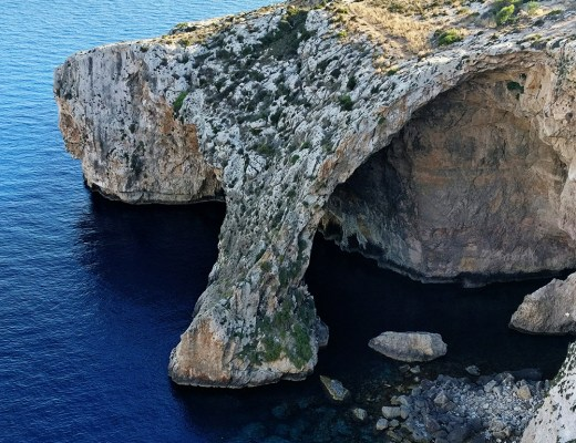 Day 1 in Malta - Blue Grotto, Hagar Qim and Mnajdra Temples