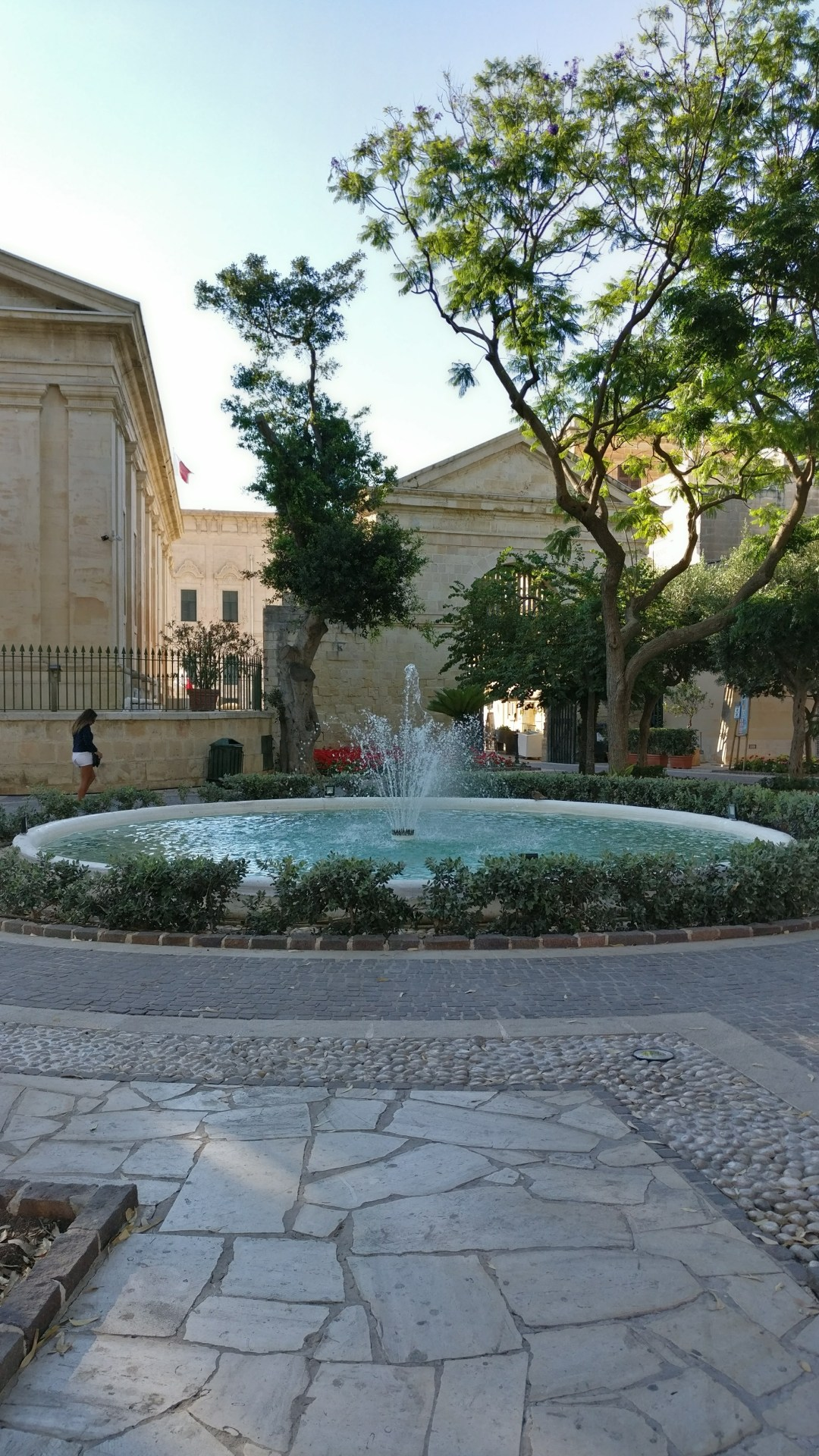 Upper Barrakka Gardens in Valletta - Day 2 in Malta- St Peter's Pool and the area of Valletta