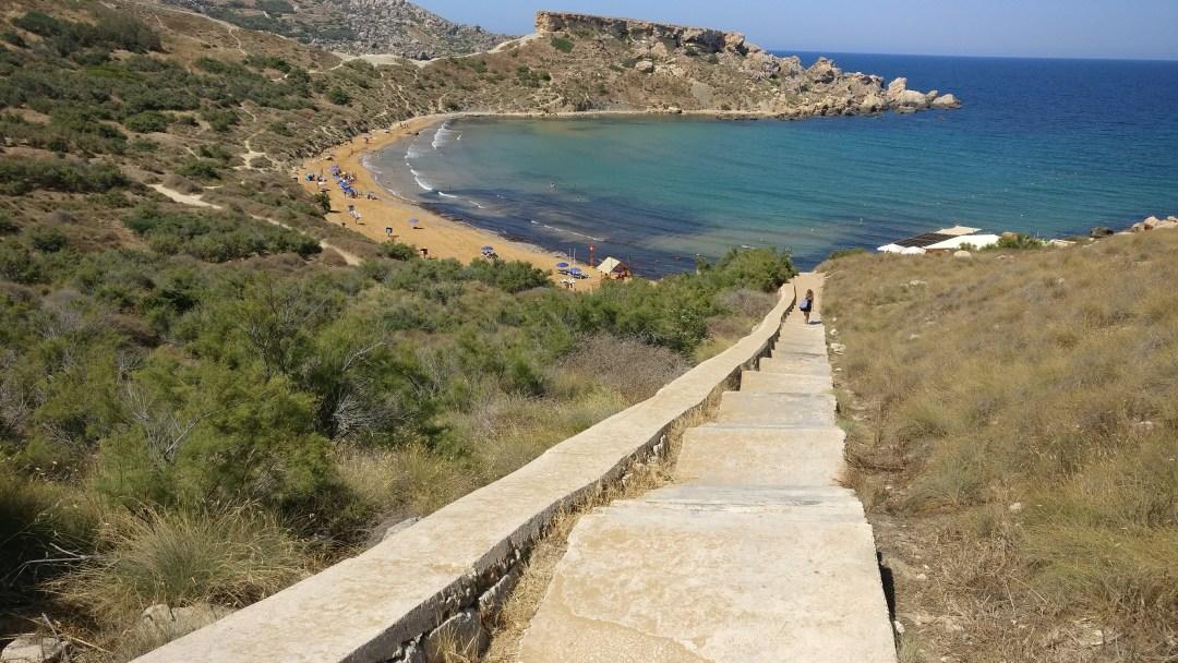 Day 5 in Malta - Ghajn Tuffieha bay
