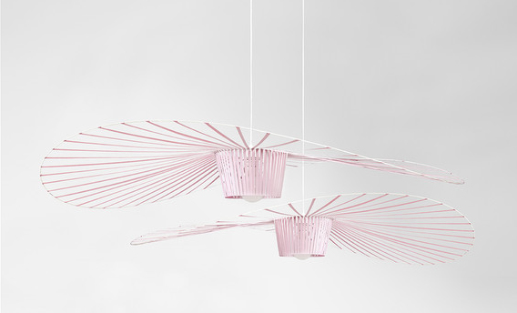 Vertigo lamp light pink by Constance Guisset | Millennial pink ideas for your perfect home