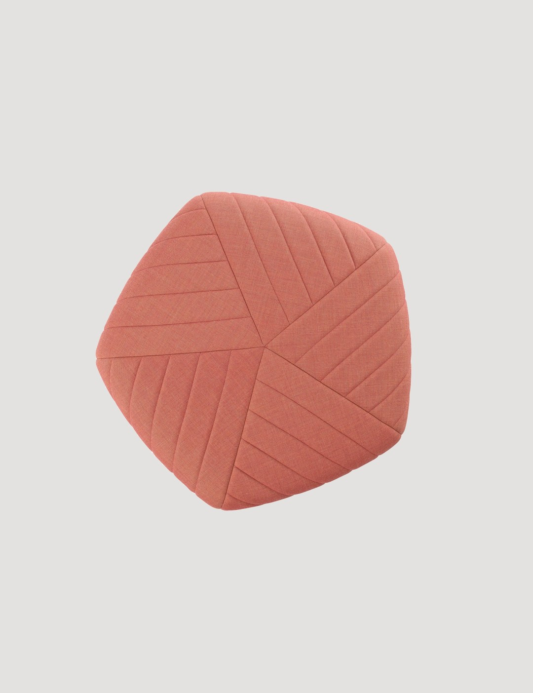 Five pouf collection by Muuto | Millennial pink ideas for your perfect home