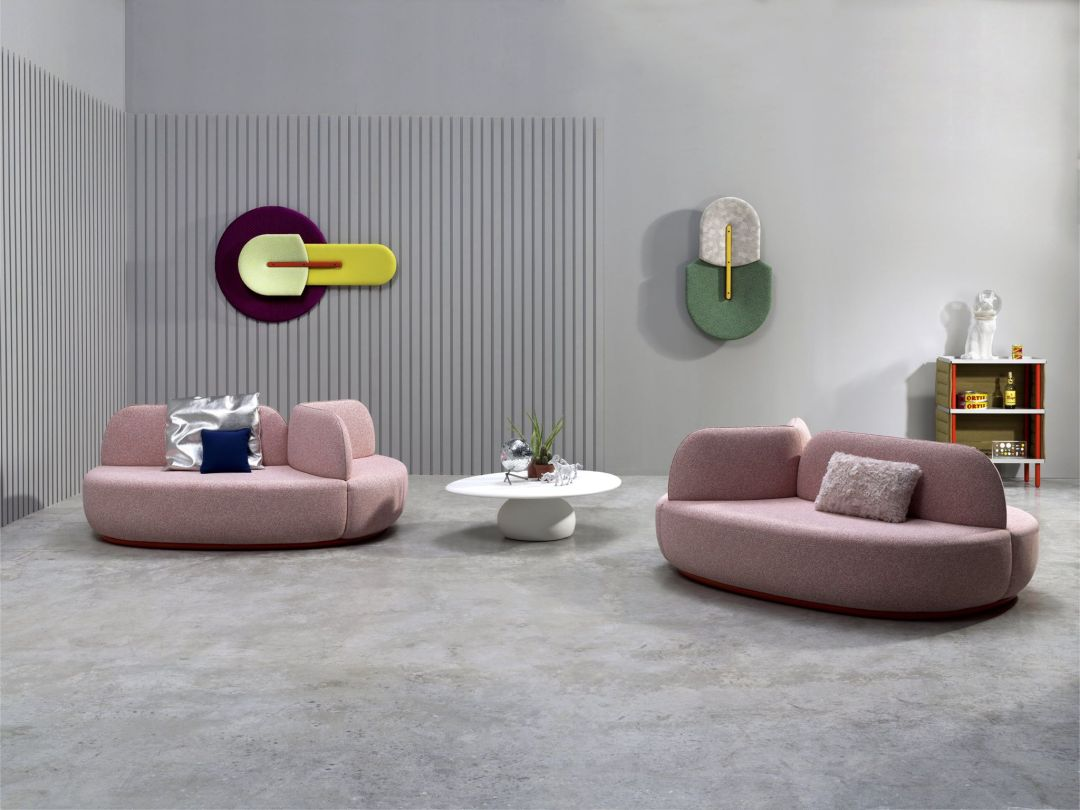 La Isla sofa by Note Design Studio | Millennial pink ideas for your perfect home