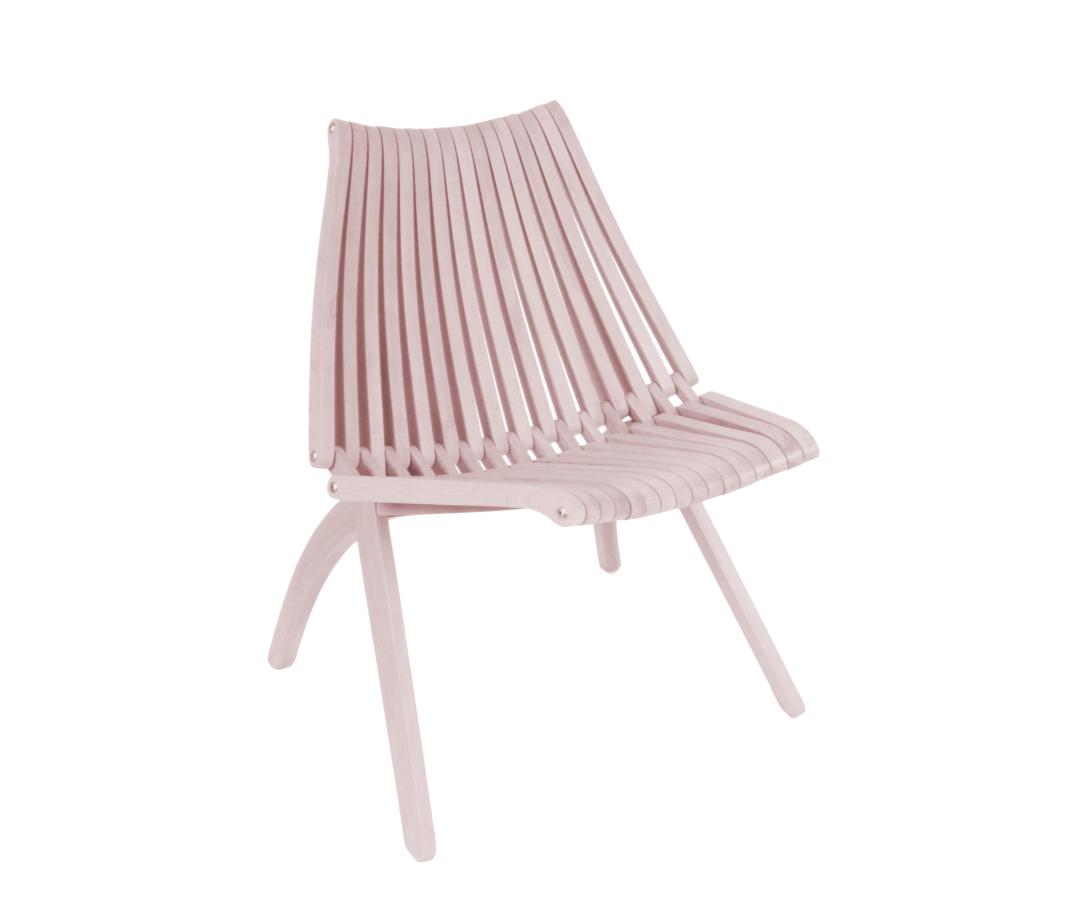 Lotos chair by POLITURA | Millennial pink ideas for your perfect home