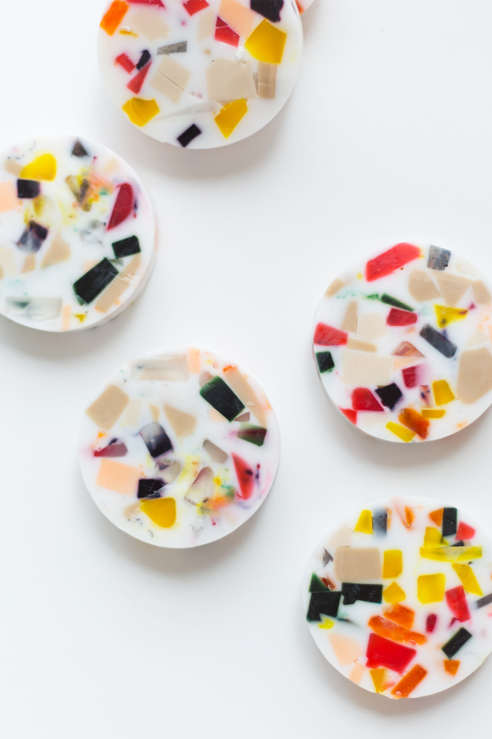 The perfect Christmas gift - DIY terrazzo style soap | Aliz's Wonderland