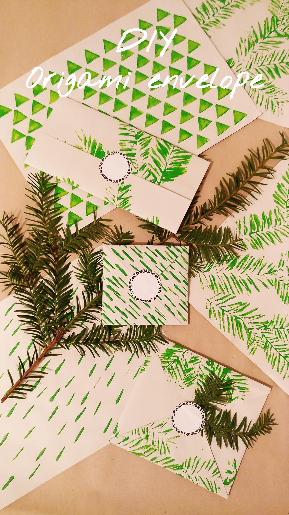 DIY Origami envelope | Aliz's Wonderland