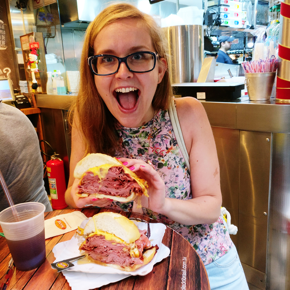 Mortadella sandwiches at Bar do Mané - What to eat and drink in Brazil? | Aliz's Wonderland