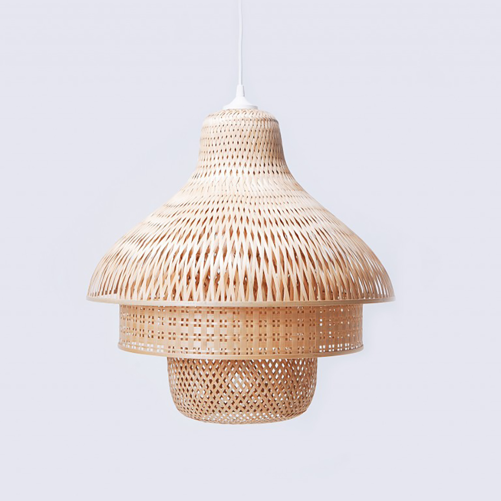 Bamboo pendant light for natural look - Transform your home into a tropical paradise | Aliz's Wonderland