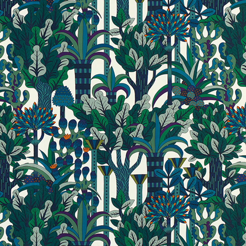 Jardin d'Osier fabric by Pierre Marie - Fabric with jungle pattern - Transform your home into a tropical paradise | Aliz's Wonderland