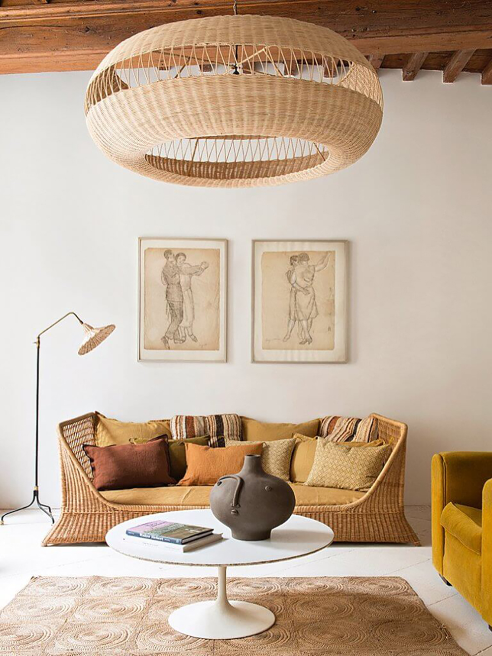 Wicker pendant light by Atelier Vime for natural look - Transform your home into a tropical paradise | Aliz's Wonderland