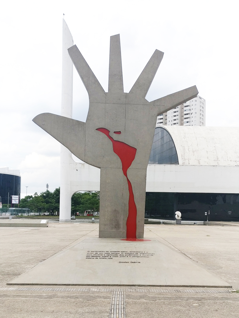 Memorial da América Latina - Oscar Niemeyer buildings in São Paulo - 10 things to do and see in São Paulo | Aliz's Wonderland